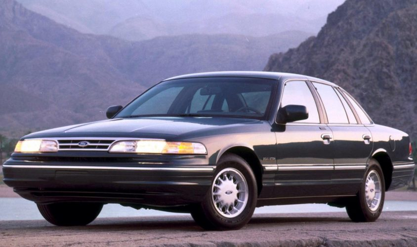Ostatni amerykański fullsize – Ford Crown Victoria